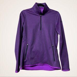 NIKE GOLF / fleece 1/4 zip pullover M